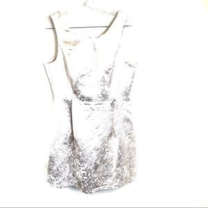 NWT Gold Metallic Dress